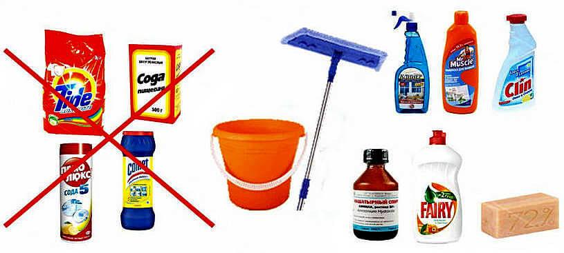 Какими средствами мыть потолок-инструкция