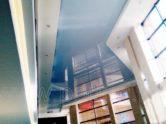 Натяжные потолки в общественных помещениях